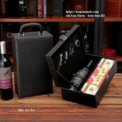hộp rượu da bánh trung thu