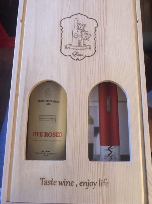 Hộp rượu vang gỗ thông 2 chai B2-1822