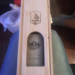 hộp rượu gỗ thông 1 chai