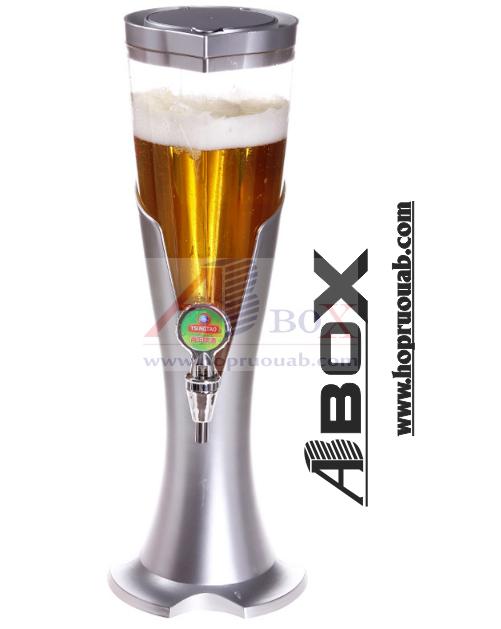 tháp bia tươi